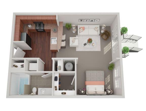 Floor Plan  Bedford S1C