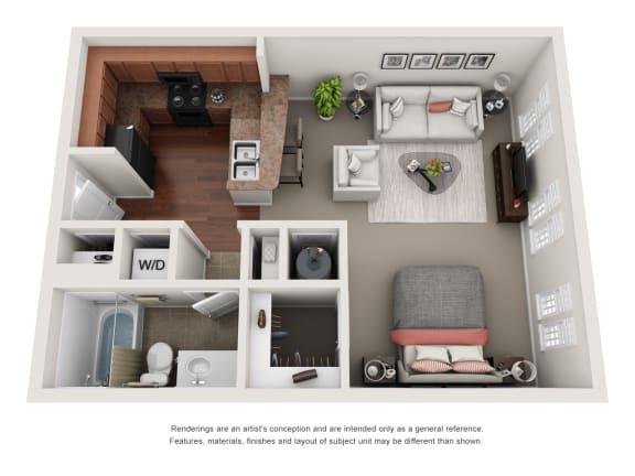 Floor Plan  Bedford S1A