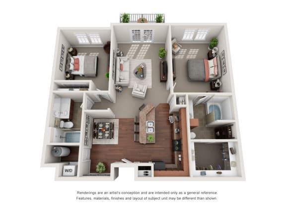 Floor Plan  Carlisle B4D