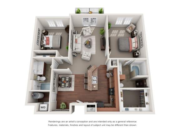 Floor Plan  Carlisle B4E