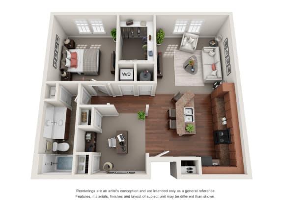 Floor Plan  Easton A6