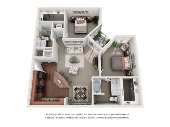 Floor Plan  Hadley B3