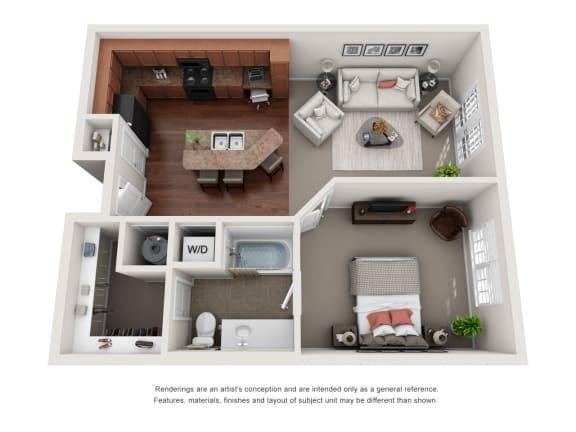Floor Plan  Wellesley A3A