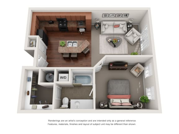 Floor Plan  Wellesley A3B