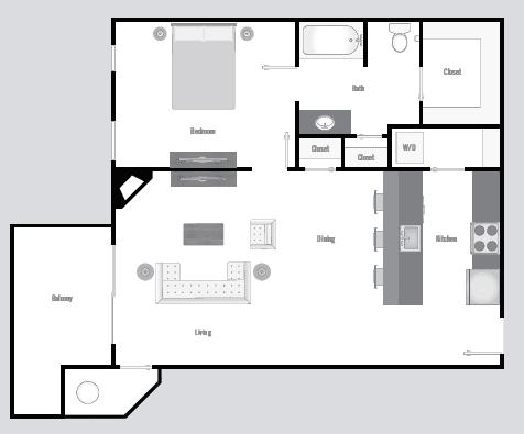 Floor Plan  Regent A3