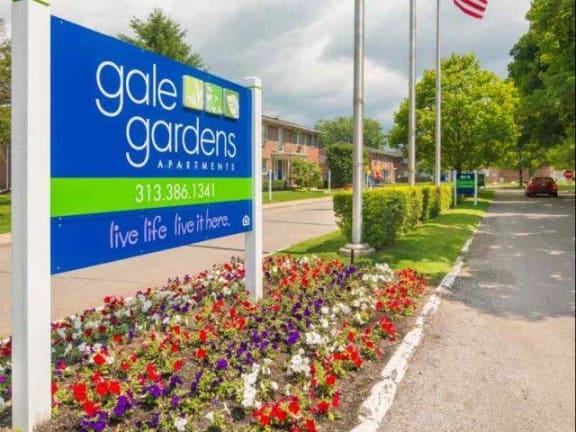 at Gale Gardens, Melvindale, MI