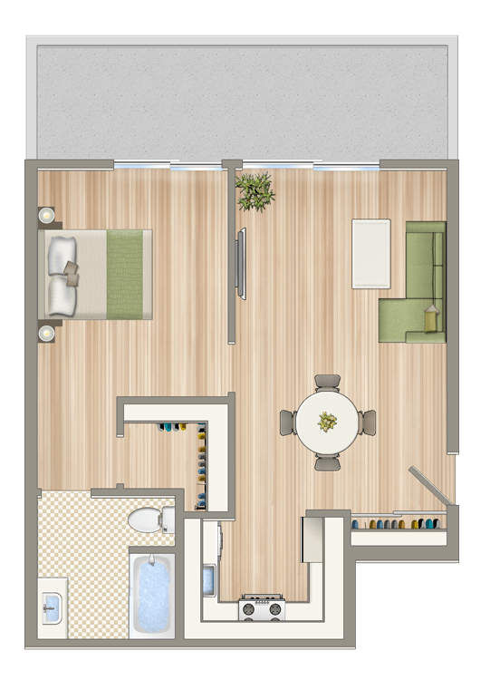 Floor Plan  Luxe@1422_7th_unit_C1-(1)