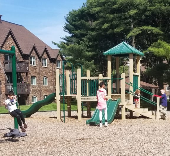 Children's Play Area at Candlewyck Apartments, Kalamazoo