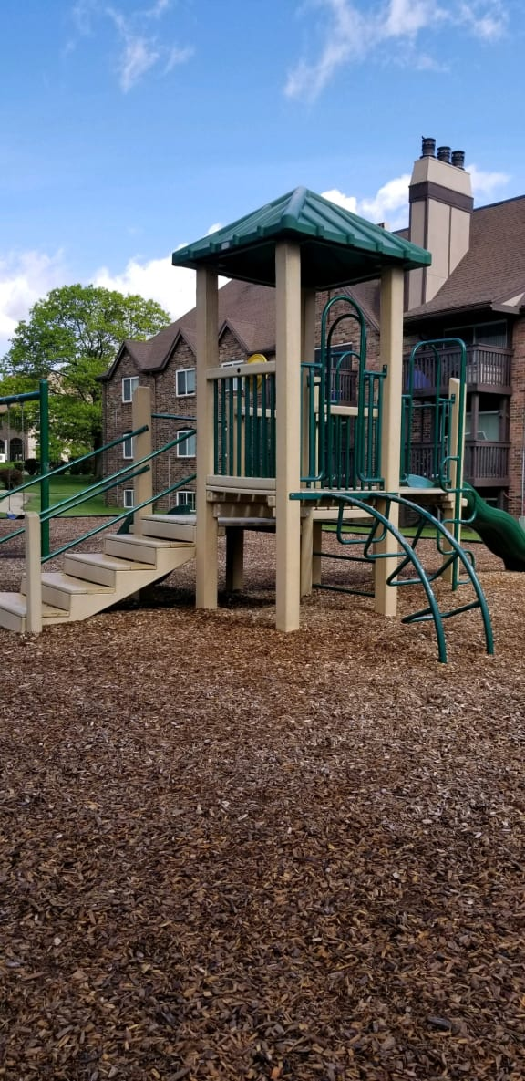 Secured Play Area at Candlewyck Apartments, Kalamazoo, 49001