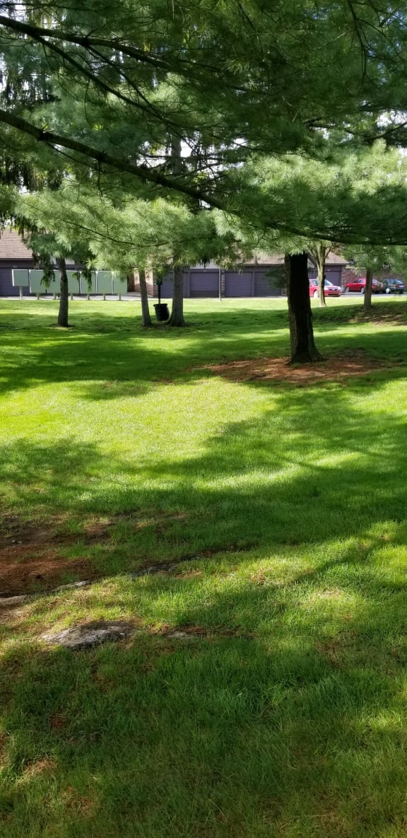 Beautiful Lawn at Candlewyck Apartments, Kalamazoo