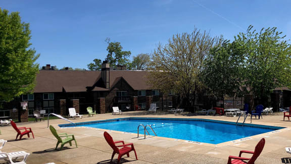 Sparkling Swimming Pool at Candlewyck