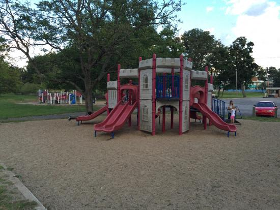 Ample and Open Play Area at Candlewyck Apartments, Kalamazoo