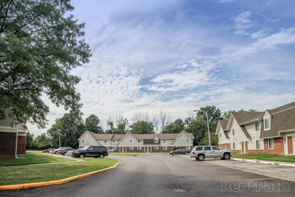 On The Bus Line at Country Lake Townhomes, Indianapolis, 46229