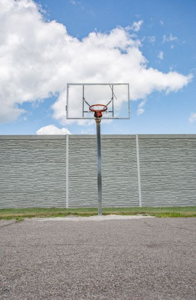 Basketball Court For Playing at Lake Marina Apartments, Indiana