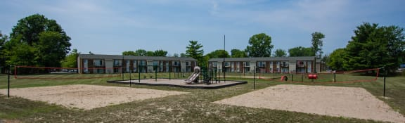 Playground For Children at Pickwick Farms Apartments, Indianapolis, IN, 46260