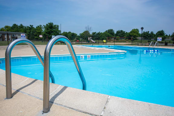 Cool Blue Swimming Pool at Pickwick Farms Apartments, Indianapolis, IN