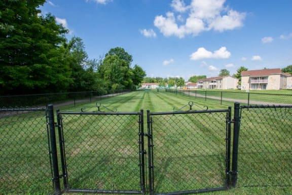 Bark Park at Sandstone Court Apartments, Greenwood, 46142
