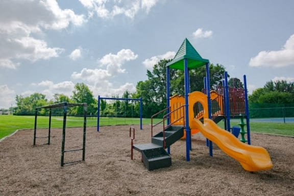 Playground at Sandstone Court Apartments, Indiana, 46142