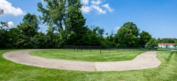 Walking Trail at Sandstone Court Apartments, Indiana, 46142