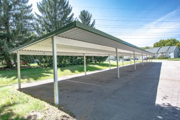 Carports Available At Community at The Lodge Apartments, Indianapolis, IN