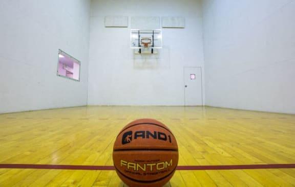 Indoor Basketball at Walnut Creek Apartments, Kokomo, Indiana
