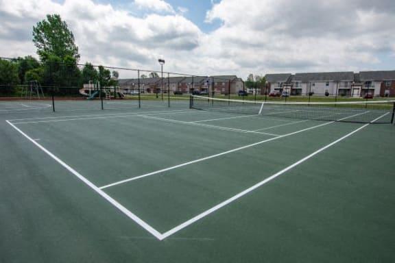 Tennis Courts at Walnut Creek Apartments, Kokomo, IN