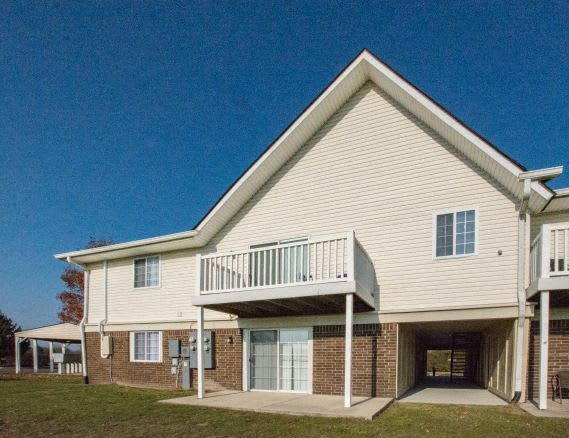 Patio/Balcony Available at Waterstone Place Apartments, Indianapolis, Indiana