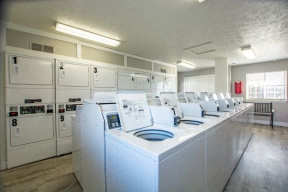 Laundry Facilities at Waterstone Place Apartments, Indiana