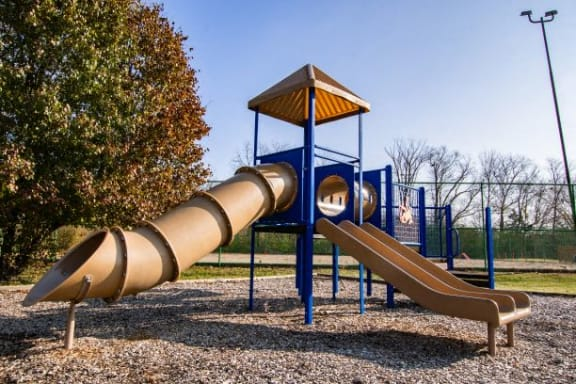 Secured Play Area at Waterstone Place Apartments, Indianapolis