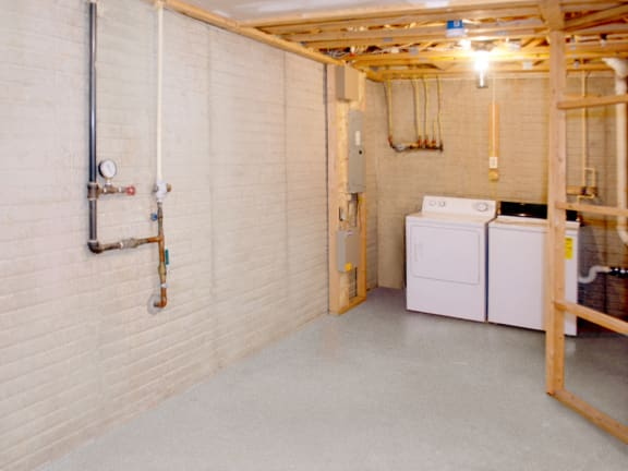 Carlson Woods Townhome Laundry - Basement