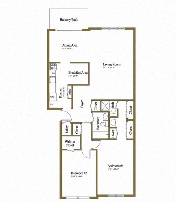 Charlesgate 2 Bedroom Apartment