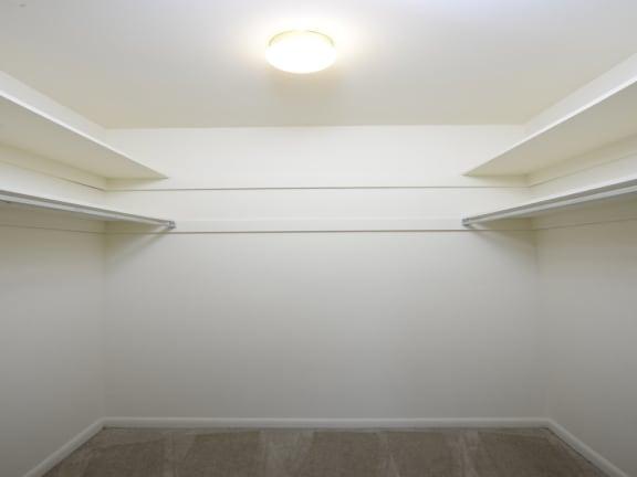 Charlesgate Apartments Walk in closet