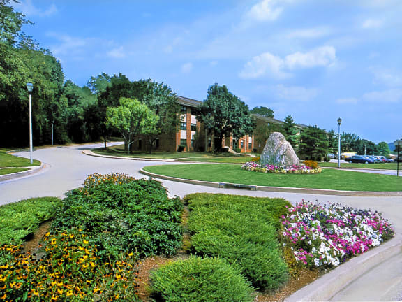 Beautiful Landscaping and Park-like Setting at Cromwell Valley Apartments, Towson, MD 21286