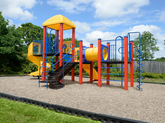 New playground at Lawyers Hill Apartments and Townhomes