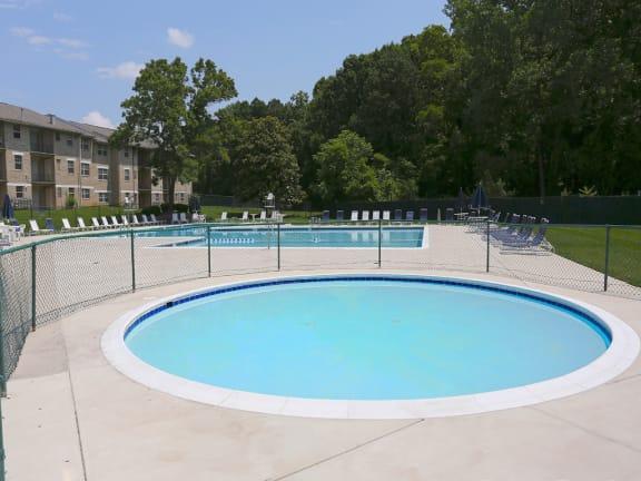 Private Swimming Pool at Woodridge Apartments, Maryland 21133