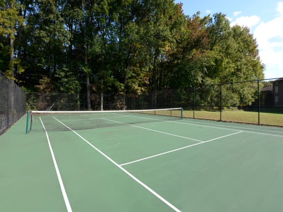 World-Class Tennis Court at Woodsdale Apartments, Abingdon, Maryland