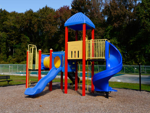 Children's Play Area  at Woodsdale Apartments, Abingdon, MD, 21009