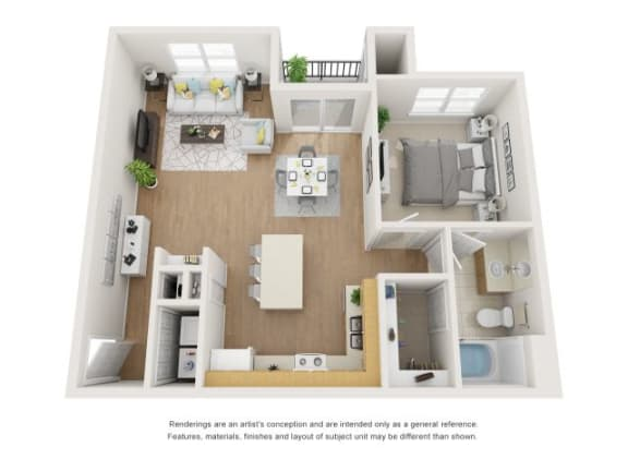 Floor Plan  Barberry 3D Floor Plan at Marquette at Piney Point, Houston