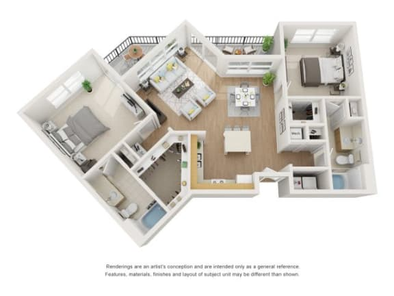 Floor Plan  Spruce 3D Floor Plan at Marquette at Piney Point, Houston
