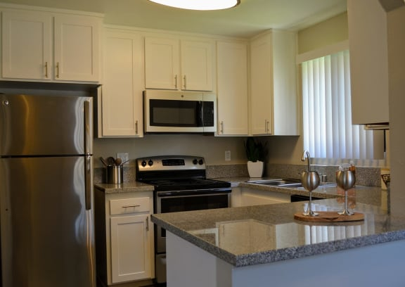Stainless Steel Appliances Available at Canyon Villa Apartment Homes, California, 91910