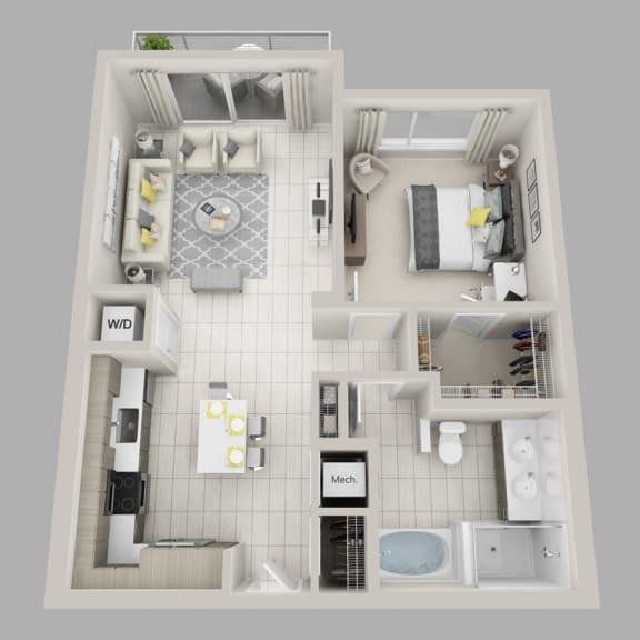 Floor Plan  Elysian - A4