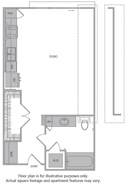 Floor Plan  Floorplan at 1000 Grand by Windsor