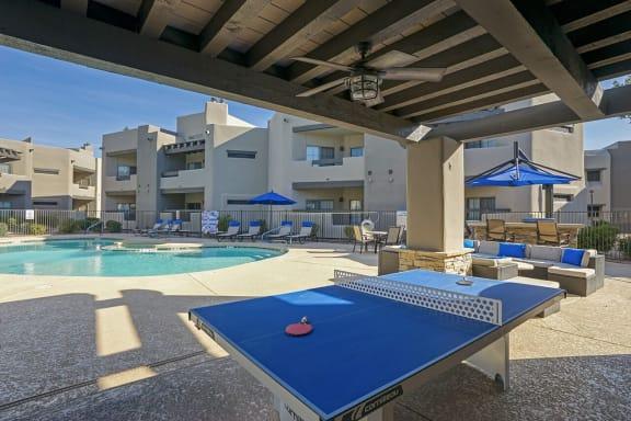 Picturesque Pool And Cabana Setting at Scottsdale Horizon, Scottsdale