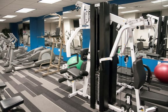 24 Hour Fitness Center at Calhoun Towers, Minnesota