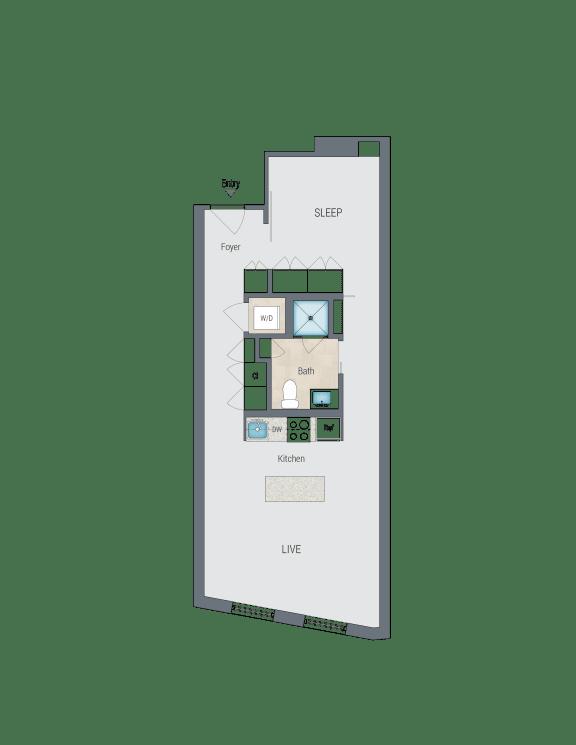 AMS2 Floor Plan at Reed Row, Washington