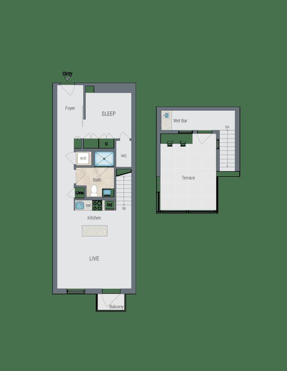 AR8 Floor Plan at Reed Row, Washington, Washington