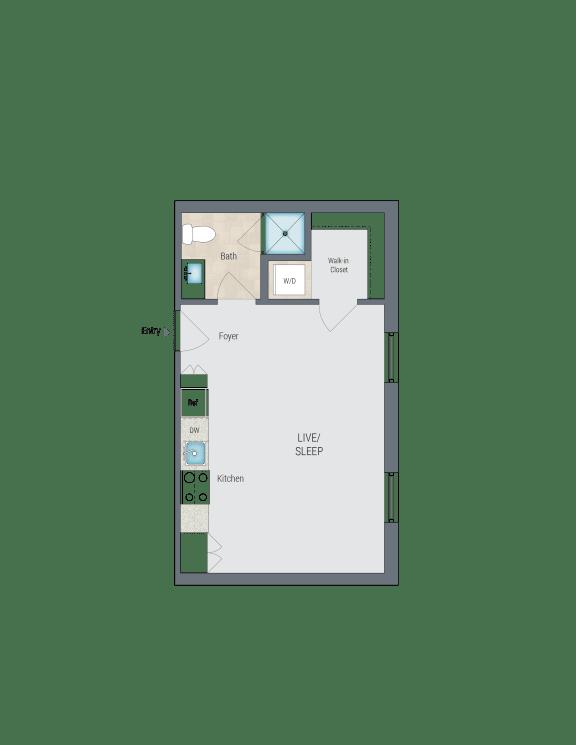 S5 Floor Plan at Reed Row, Washington, Washington