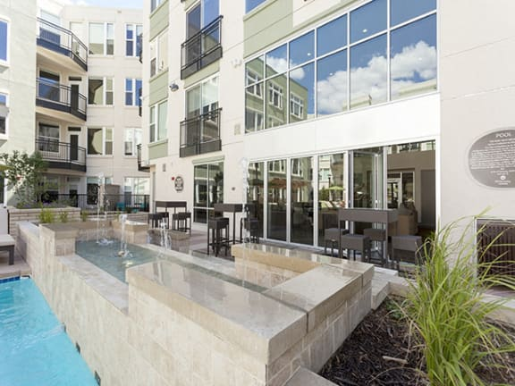 Courtyard with Swimming Pool at Alara Union Station, Colorado, 80202