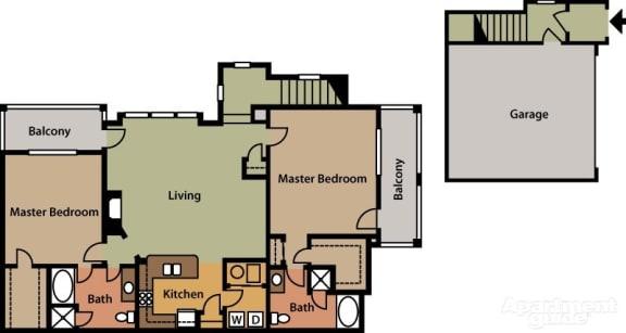 Floor Plan  Double Master, opens a dialog