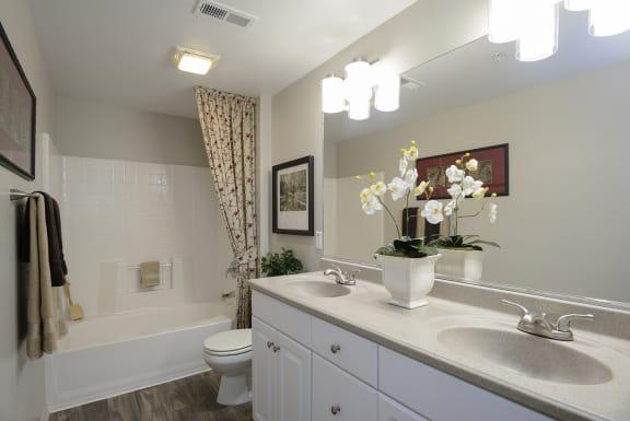 Upgraded Bathroom Fixtures at Santa Rosa Apartment Homes, Wildomar, 92595